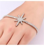 Palm Armband Crystal Star
