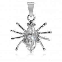 Zilveren Kettinghanger Spider