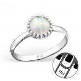 Zilveren Midi Ring Jody