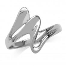 Zilveren Ring Zig Zag