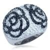 Zilveren Ring Rosa