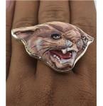 Zilveren Ring Puma