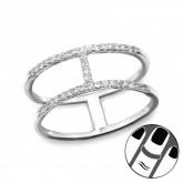 Zilveren Midi Ring Arianna