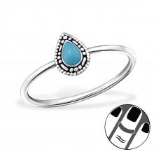 Zilveren Midi Ring Ella