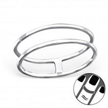Zilveren Midi Ring Grace