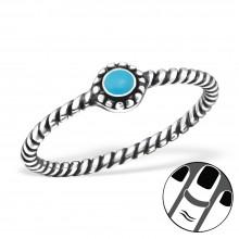 Zilveren Midi Ring Sanaz