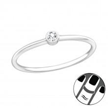 Zilveren Midi Ring Yentl