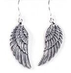 Zilveren Oorbellen Angelwings