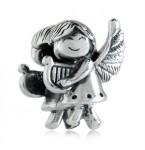 Zilveren Bedel Lachende engel