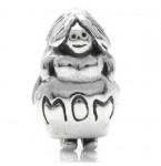 Zilveren Bedel Mom