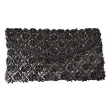 Tas Black Clutch