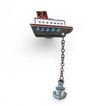 Broche Boat and Anchor
