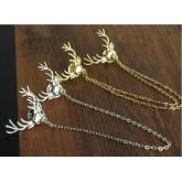 Broche Collar Brooch Deer