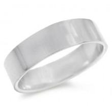 Zilveren Heren Band Ring Madison