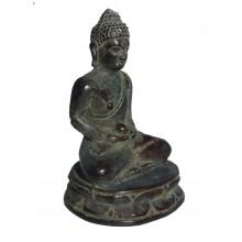 Zittende Buddha Innerlijke Rust Brons
