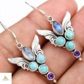 Silver Earrings Jyna