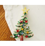 Broche Kerstboom