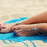 Barefoot Sandals Turquoise