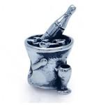 Zilveren Bedel Wijnkoeler