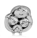 Zilveren Bedel Moeder van Drie