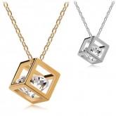 Ketting Diamond in Cube