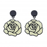 Oorbellen Off-White Roses