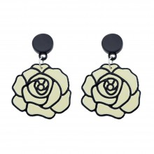 Oorbellen Off-White Roses