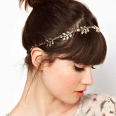 Haarband Golden Leaf
