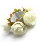 Haarelastiek White Roses