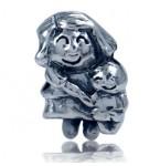 Zilveren Bedel Mom and Child