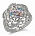 Zilveren Ring Jenna