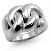 Zilveren Ring Eternity Knot