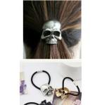 Haarelastiek Skull