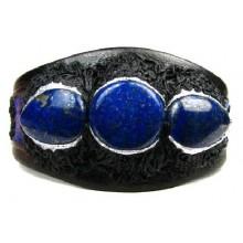 Lederen Armband Lapis Lazuli