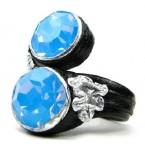 Lederen Ring Opaal Droom