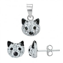 Zilveren Set Kitty
